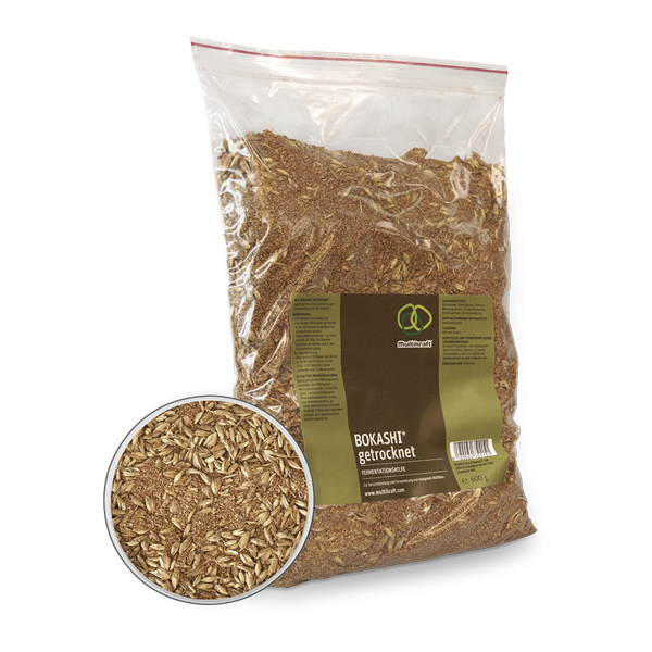 Dried Bokashi – Natural Bran 600g