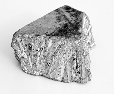 An image of the mineral Zinc Chloride